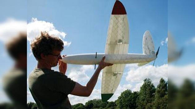Avión impreso en 3D lanzado con éxito