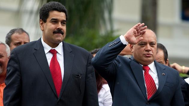 Gobierno venezolano alerta de un atentado contra Nicolás Maduro y Diosdado Cabello