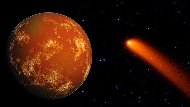 Un cometa podría causar un cráter de 500 kilómetros en Marte