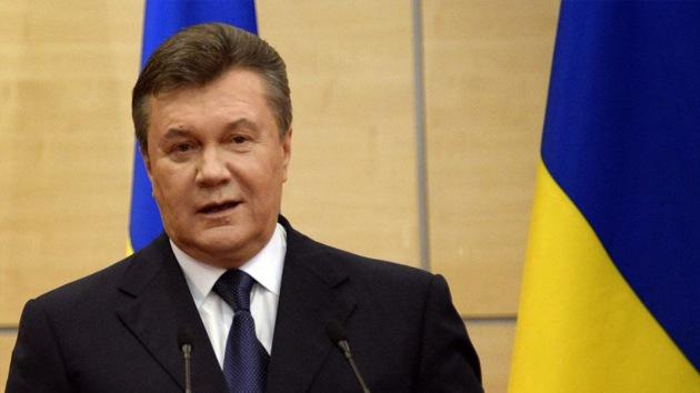 """Yanukóvich: """"No se debió permitir que bandidos impusieran su voluntad en Ucrania"""""""