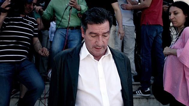 """El alcalde de Atenas, """"agredido físicamente"""" en una protesta"""