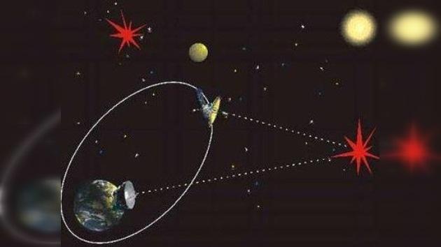 El radiotelescopio espacial Spektr-R despliega su antena