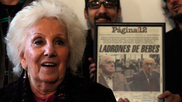 Otorgarán a Estela de Carlotto el título de primera Ciudadana Ilustre de América Latina
