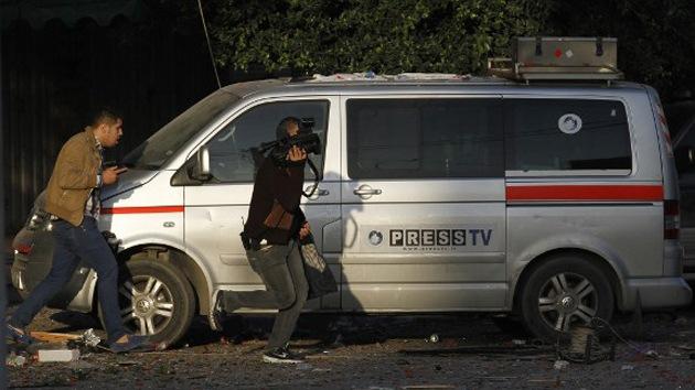 """Israel: """"Si un periodista está cerca de edificios de Hamás, comete un grave error"""""""