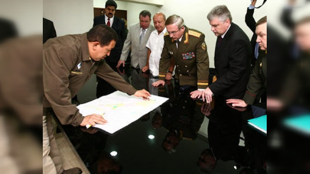 Una delegación de Bielorrusia revisa con Chávez los acuerdos bilaterales
