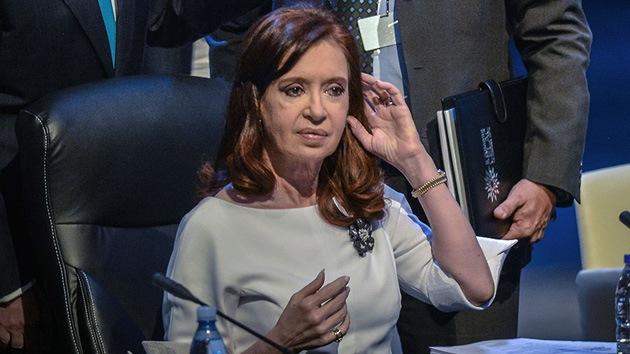 Cristina Fernández de Kirchner será tratada por bursitis en una cadera