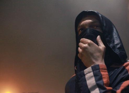 Represión policial de las protestas en Georgia