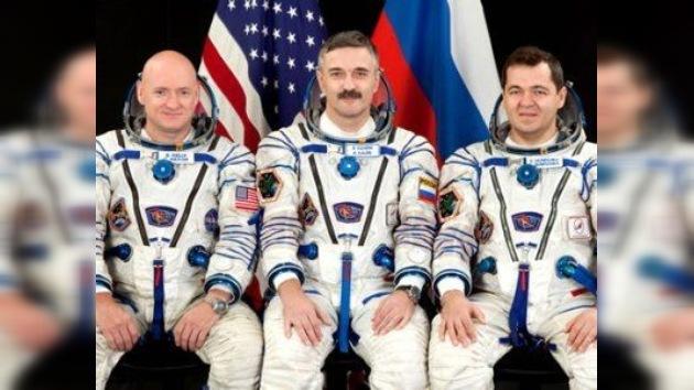 Se homenajea la tripulación de la primera Soyuz 'digital'