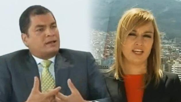 Rafael Correa en exclusiva a RT: Ecuador no teme represalias por asilo concedido a Assange