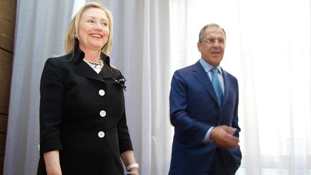 El canciller ruso señaló un cambio en la retórica de Hillary Clinton sobre Siria