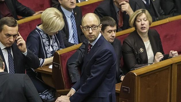 """El Gobierno autoproclamado de Ucrania """"buscará refugio en Occidente en 2014"""""""