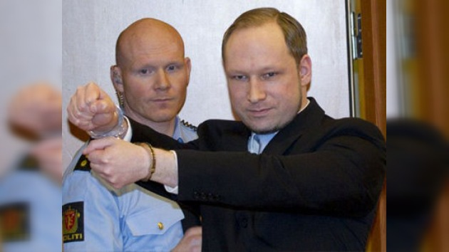 Acusan de terrorismo a Breivik, el asesino múltiple de Noruega