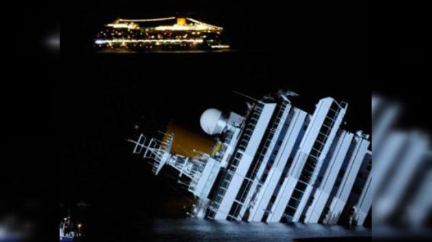 El Costa Concordia amenaza al medio ambiente