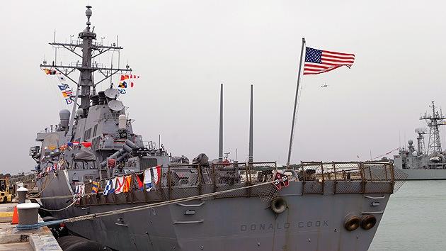 El destructor de misiles de EE.UU. entra en el Mar Negro