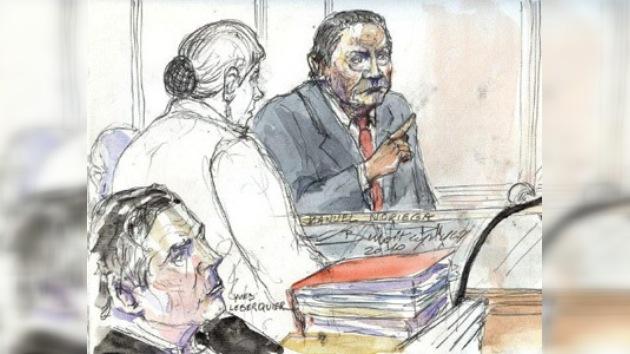 Noriega cambia la cárcel por el hospital