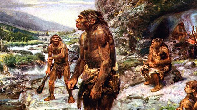 Queria mãe a dar à luz a um Neanderthal
