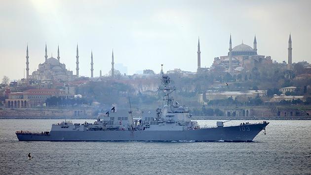 EE.UU., Rumanía  y Bulgaria comienzan ejercicios navales en el mar Negro