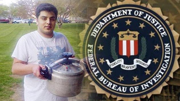 El FBI interroga a un estudiante saudí por ser visto con una olla a presión