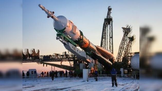 Todo listo para el lanzamiento de la Soyuz
