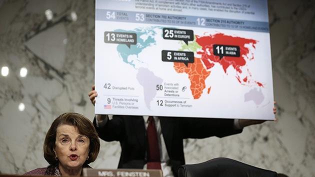 """Una senadora de EE.UU. incluye a México y Canadá en su """"patria"""""""
