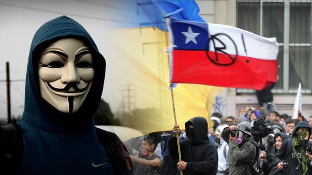 #OpMaleducados: Anonymous anuncia una operación en apoyo a los estudiantes de Chile