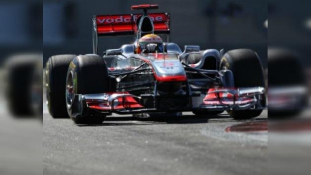 Doblete de McLaren en los primeros entrenamientos libres de Abu Dabi
