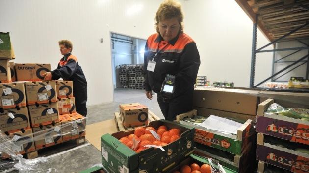 Rusia prohíbe la importación y el tránsito de alimentos vegetales de Ucrania