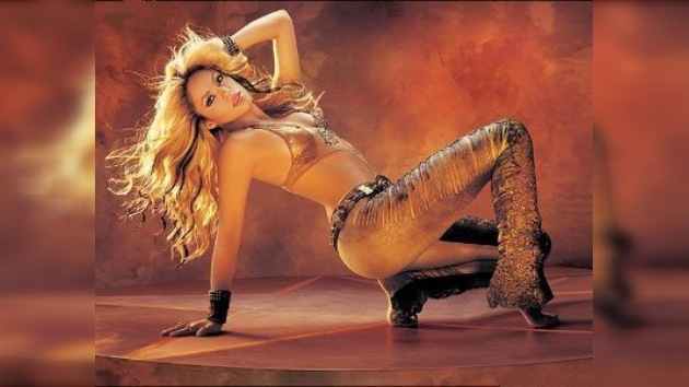 Shakira recibió la medalla de la ONU por sus pies descalzos