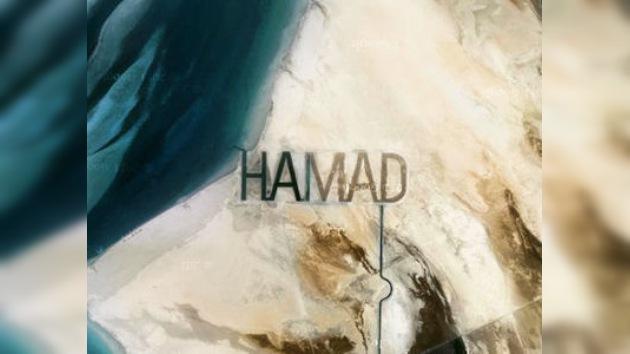 Un autógrafo de tres kilómetros: un jeque 'graba' su nombre en el desierto
