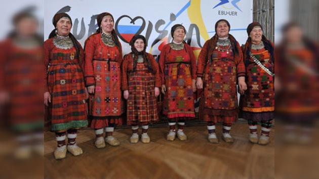 Un grupo de ancianas representarán a Rusia en Eurovisión 2012