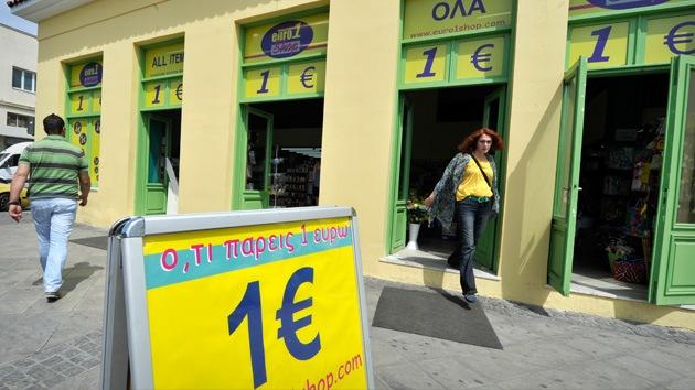 Fitch baja el 'rating' de varios bancos griegos y deja el país al borde de la insolvencia