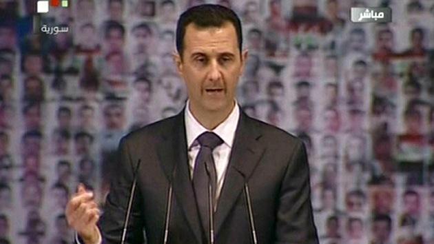 Al Assad promete una nueva Constitución y un referéndum en Siria