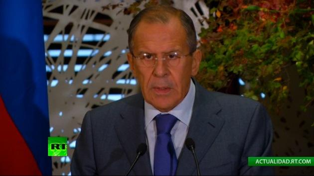 """Lavrov: """"Intentan llevar a la conferencia de Ginebra 2 a un callejón sin salida"""""""