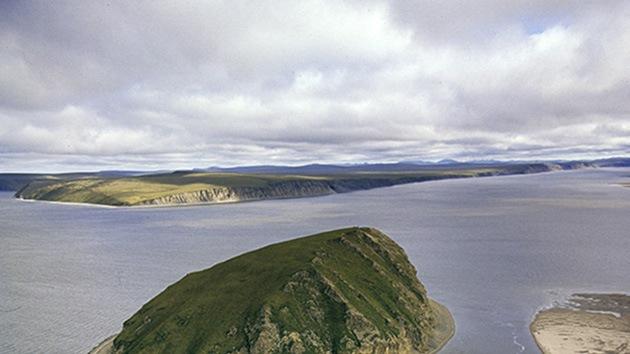A Rusia le nace una pequeña isla en el Ártico
