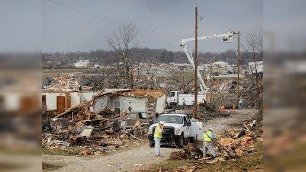 VIDEO: una secuencia de tornados deja decenas de muertos en EE. UU.