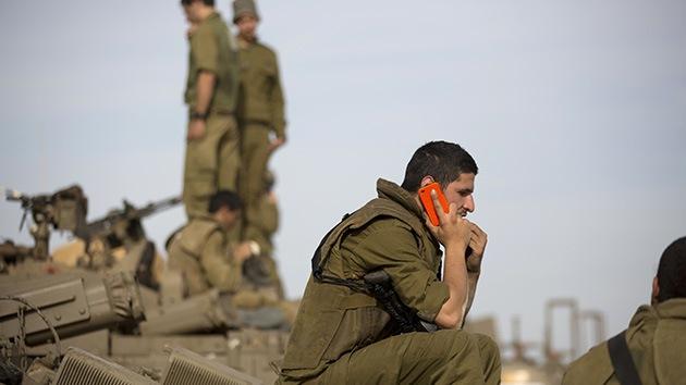 Los israelíes recurren a sus móviles para salvarse de los proyectiles de Hamás