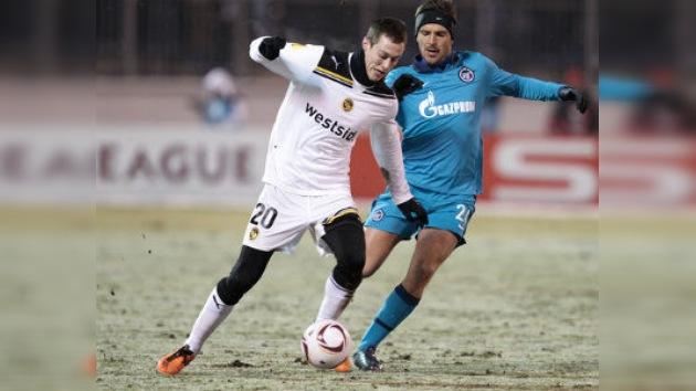 Zenit y Spartak pasan a octavos de final de la Liga Europa