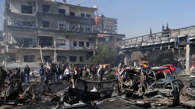 Fuego de mortero deja varios muertos en la Universidad de Damasco