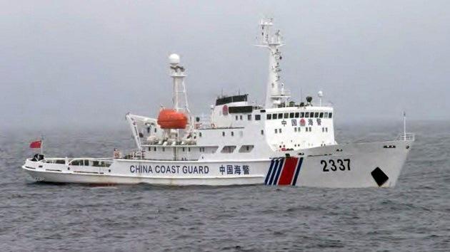 Patrulleras chinas entran en aguas de las islas en disputa con Japón
