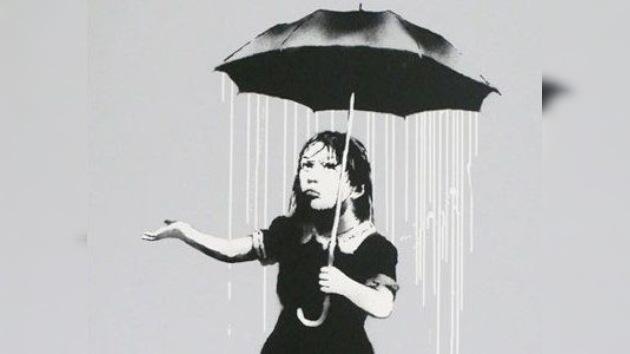 Un grafiti de Banksy se venderá por más de 80.000 dólares