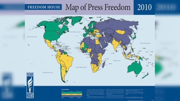 La libertad de prensa con retrocesos