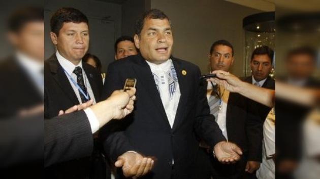 Desplante de Correa al Banco Mundial en la XXI Cumbre Iberoamericana