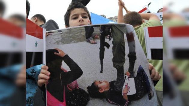 Unas imágenes revelan que las manifestaciones en Siria son armadas