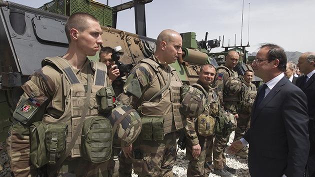 Una bomba explosiona en Afganistán, en plena visita sorpresa del presidente francés