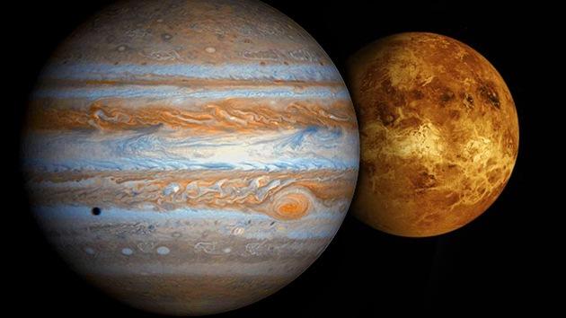 Venus y Júpiter 'se citan' el lunes en su acercamiento más vistoso del último lustro