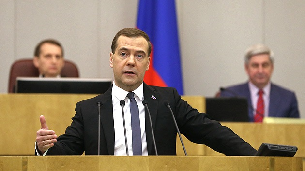 Medvédev: Si Occidente continúa el camino de las sanciones, ganaremos