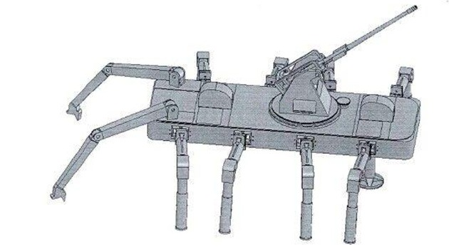 China diseña un robot-cangrejo para las guerras del futuro