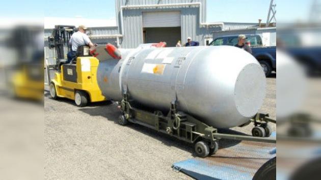 Adiós a las armas: En EE. UU. desmantelan la última bomba atómica gigante