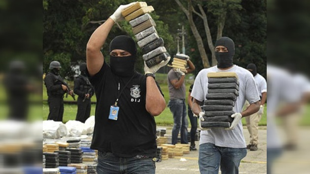 Autoridades incautan otras cuatro toneladas de cocaína en Panamá