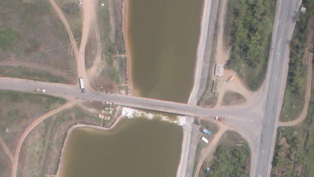 Foto: Ucrania construye un dique que dejaría a Crimea sin agua